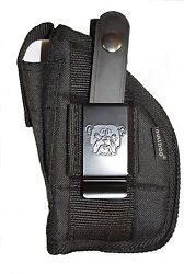Bulldog gun holster for SCCY CPX1 and CPX2 With Laser