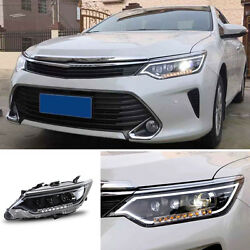 For Toyota Camry 13-15 LED Lamp Beads(Corner Lamp)+HID Xenon Headlights Assembly