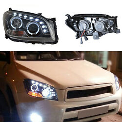 For Toyota RAV4 09-12 Car Bi-xenon Projector Headlights Assembly HighLow Beam