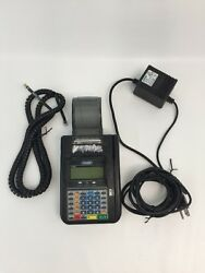 Hypercom T7 Plus Credit Card Terminal W/ Charger