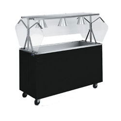 Vollrath 39775 46 Affordable Portable Storage Base Cold Food Station Cherry