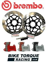 Ducati 899 Panigale 2014 Brembo 320mm Upgrade Front Brake Kit + Rc Track Pads