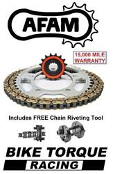 Ducati 1200 Diavel 11-18 Afam Quiet Chain And Sprocket Kit + Tool