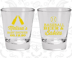 Baby Shower Shot Glasses Glass Decorations 90149 Baseball Beers Babies