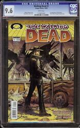 Walking Dead 1 Cgc 9.6 White Image, 2003 1st Appearance Rick Grimes