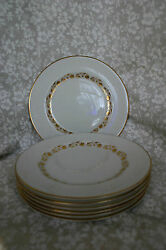 Royal Doulton T.c. 1006 Fairfax Bread And Butter Plates - Seven