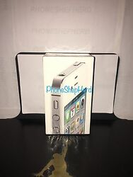 New Apple iPhone 4S 64gb Unlocked GSM Cell Phone White Factory Sealed !!!
