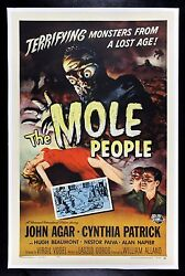 The Mole People ✯ Cinemasterpieces Monster Horror Sci Fi Movie Poster 1956