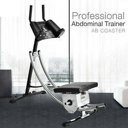 Professional Abs Abdominal Coaster Core Exercise Ab Crunch Muscle Tone Cardio
