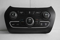 2014-2016 JEEP CHEROKEE AC HEATER TEMPERATURE CLIMATE CONTROL UNIT