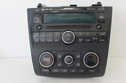 2007-2009 NISSAN ALTIMA RADIO STEREO CLIMATE CONTROL CD PLAYER