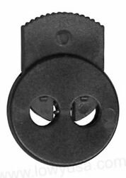 Fms Circle Dual Hold Lock - Cord Lock Spring Stop Toggle Stopper Dual Hole