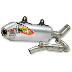 Pro Circuit T-6 Stainless System W/ Spark Arrestor For Husquvarna Fc450 17