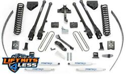 Fabtech K20172 8 4 Link Lift Kit W/performance Shocks For 2005-2007 Ford F-350