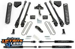 Fabtech K2132m 6 4 Link Sys. W/stealth Shocks For 08-16 Ford F-350/f-450 4wd