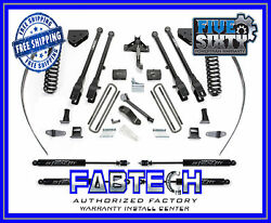 Fabtech K2126m 8 4 Link System W/stealth Shocks For 08-16 F250 4wd W/ Overload