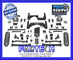 Fabtech K1018 6 Basic System W/autoride For 2007-14 Gm C/k1500 Suv/sut 2wd/4wd