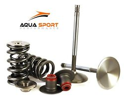 Valve +1mm Spring Seal And Titanium Retainer Kit Sea Doo Rxp-x Rxt-x 250 255 260