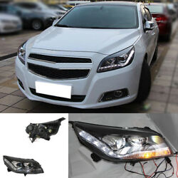For Chevrolet Malibu 12-15 Right&Left Headlight Lamp Assembly Bi Xenon Projector