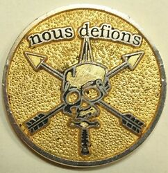 7th Special Forces Group Airborne 3rd Battalion C Co Army Challenge Coin