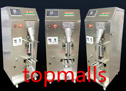Automatic Intelligent Pure Liquid Packing Machine Electronic Counting Three-side