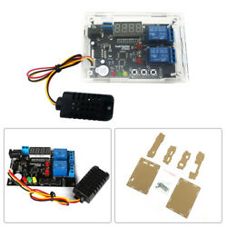Digital Temperature Humidity Control Board for Greenhouse+Arcylic Case Shell Hot