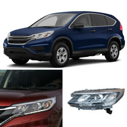 Left & Right HID Xenon Headlights Assembly with Lens For Honda CR-V Summit 15-16