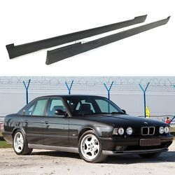 Side Skirt Set Valance Panel Spoiler Tuning Fits Bmw E34 And M5
