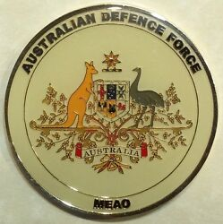 Australian Defence Force 2009 Middle East Area Of Operations Meao Challenge Coin