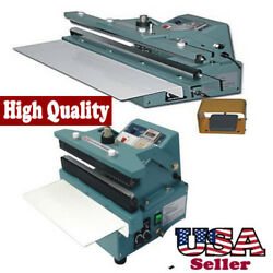 16 Automatic / Manual Constant Heat Sealer 5/8 Seal Foil Bag Sealing Thick