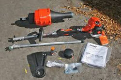Echo Pas-225 Value Pack Pas-225vpb Powerhead, Speed Feed Trimmer Head And Blower