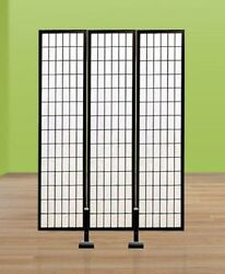 Screen Stands Shoji Support System Temporary Wall Divider - Screen Not Included