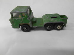 Vintage Yatming Made In Hong Kong Diecast Green Truck 14