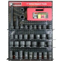 K Tool 0849 1 Drive Impact Tools Display - Ratchets Sockets Extensions More