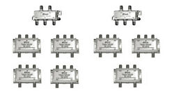 28-way Splitter System For Satellite Radio Commercial Services