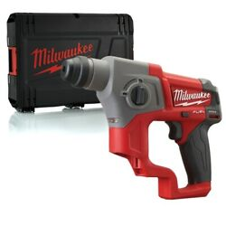 Milwaukee M12ch-x 12v Compact Sds Hammer Drill With Case Body Only