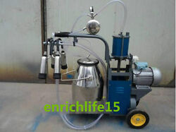 110v 220v New Electric Milking Machine For Cows Or Sheep Blue