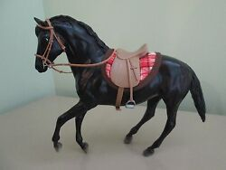 Breyer Horse Saddle Club Belle (Classic model) + Tack