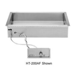 Wells Ht-227af Auto-fill Electric Bain Marie Well W/ 25-3/4 X 26-7/8 Opening