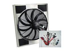 Spal Electric Fan And Shroud Griffin Rad 1948-1955 Chevy Truck [50-205185-16shp-0]