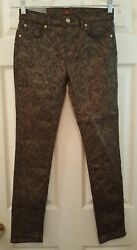 NWT 7 For All Mankind Jeans 14 The Skinny Second Skin Legging Stretch NEW A3