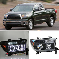 For Toyota Tundra 07-11 HID Xenon Headlights+ HighLow Lamp+Cornering Lamps 1SET