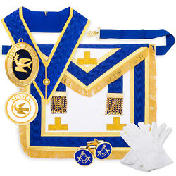 Masons Craft Provincial Full Dress Lambskin Pack Regalia With Province And Rank