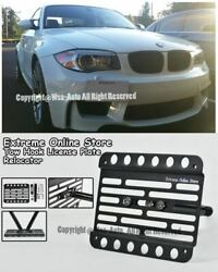 2012-up For Bmw E82 1-series M-sport Only License Plate Bracket Front Tow Hook