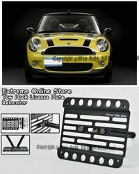 09-10 For Mini Cooper S Convertible Front Tow Hook License Plate Bracket R57 Mk2