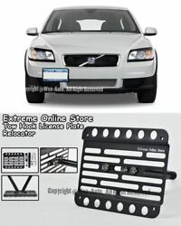 07-10 For Volvo C30 Front Bumper License Plate Tow Hook Relocator Bracket Mount