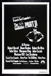 The Godfather Part 2 ✯ Cinemasterpieces Gangster Original Movie Poster Rolled