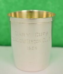 Sterling Cary Cups Meadow Brook Club 1934