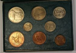 Coins of Ireland Government Issued Uncirculated Coin Set Mixed & Scarce Dates BU