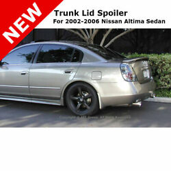 For Nissan Altima 4dr 02-06 Trunk Rear Spoiler Painted Champagne Mist Met Ey1